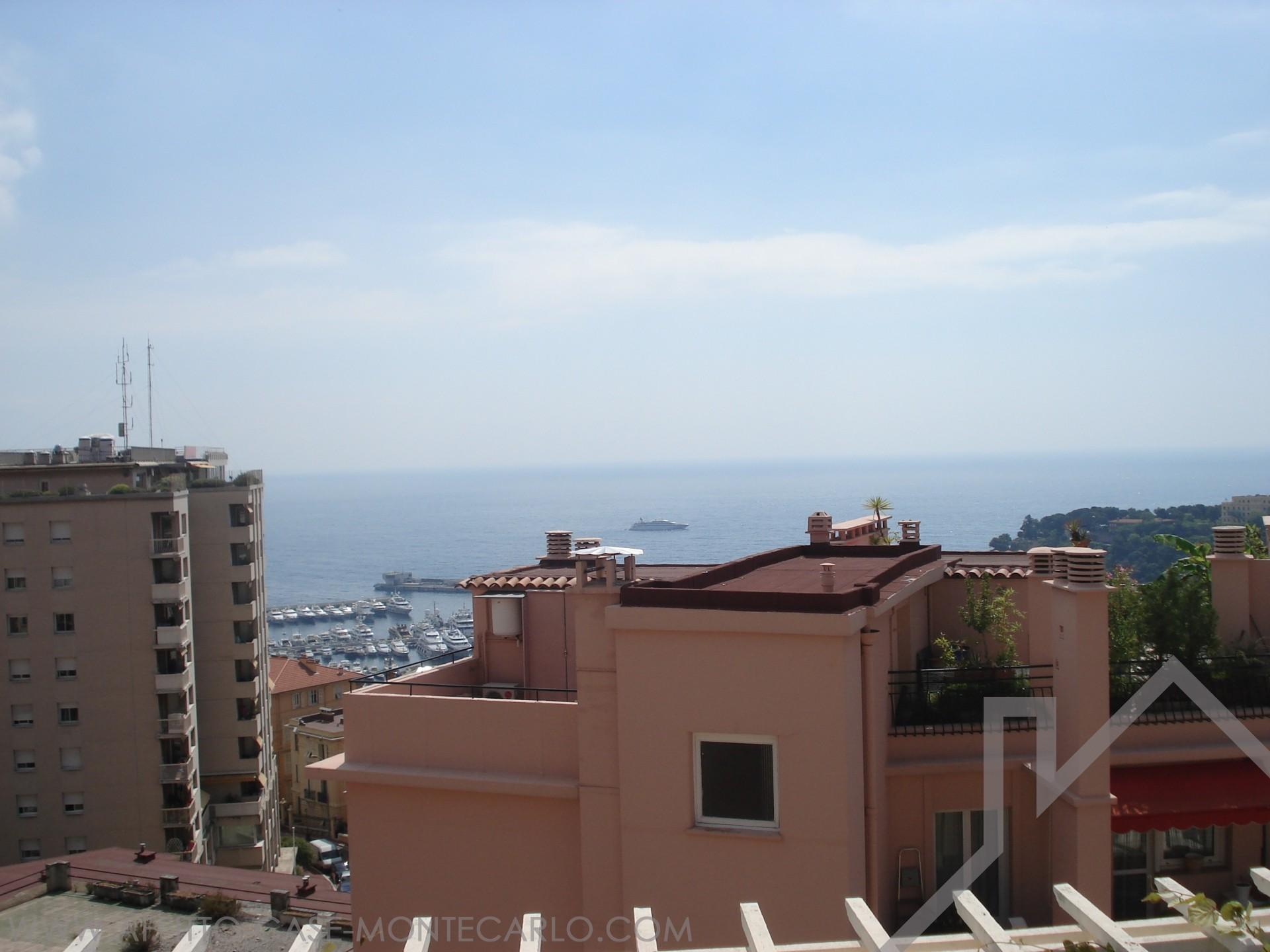Bel 3 vani arredato con terrazzo sul tetto appartamenti for Prezzi case montecarlo