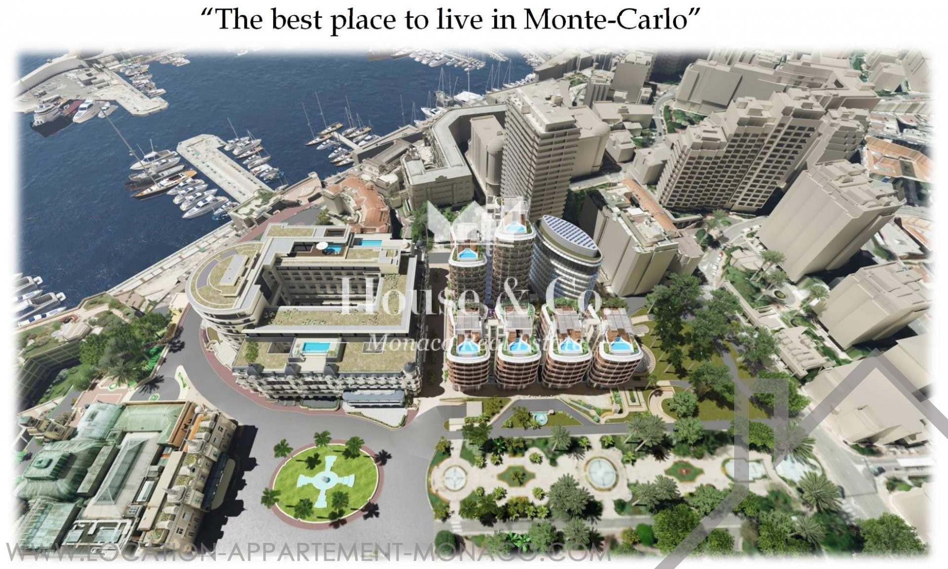 APARTMENTS IN HOTEL RESIDENCE FOR RENT - Appartamenti da affittare a MonteCarlo